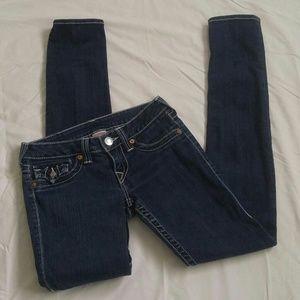 True Religion Julie Low Rise Skinny Jeans